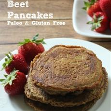 Chocolate Beet Pancakes