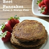 Chocolate Beet Pancakes
