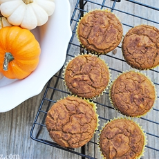 Gluten-Free Pumpkin Pie Muffins Recipe from Sweet Debbie