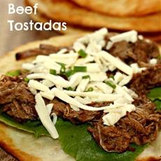 Leftover Beef Recipes: Korean Beef Tostadas