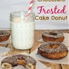 Chocolate Frosted Donuts & Old Fashioned Cake Donuts
