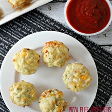 Pizza Puff Appetizers