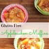 Gluten Free Apfelkuchen Muffins with Olive Oil #STAROliveOil