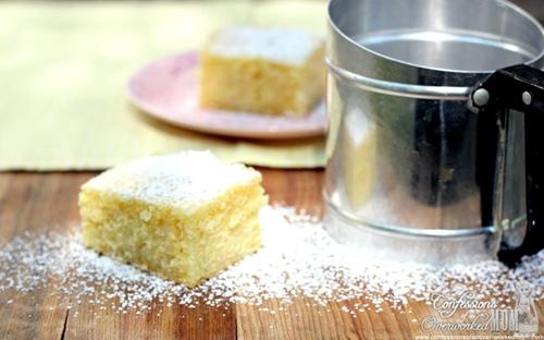 Lemon Cake from Scratch - Lemon Drizzle Cake