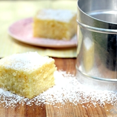 Lemon Cake from Scratch - Lemon Drizzle Cake
