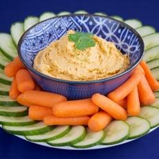 Sirrachi hummus