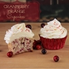 Cranberry Orange Cupcakes With White Chocolate Ganache
