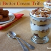 Peanut Butter Cream Brownie Trifle