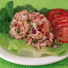 Tuna Salad Kicked Up - Paleo Spicy Tuna Ceviche
