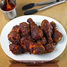 Spicy Bourbon BBQ Chicken