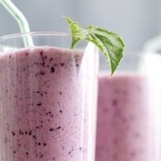 Blueberry-Cucumber Smoothie