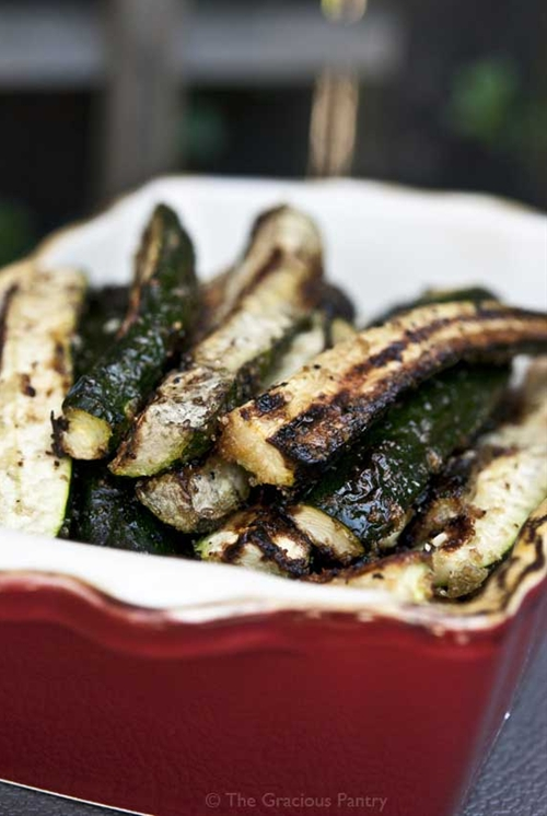Clean Eating BBQ Zucchini