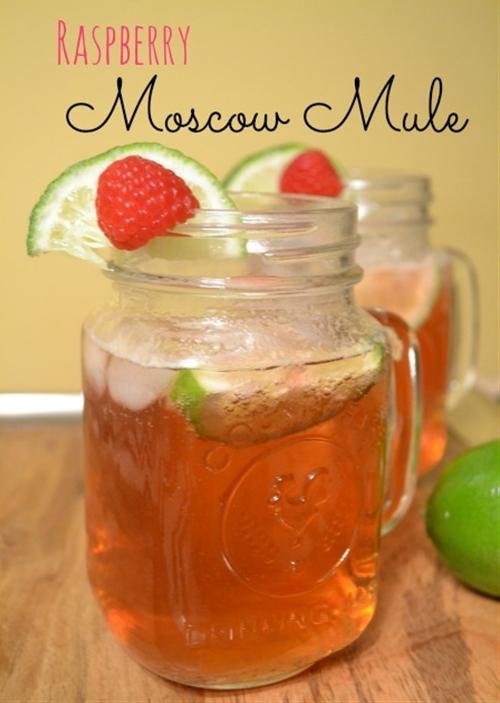 Raspberry Moscow Mule