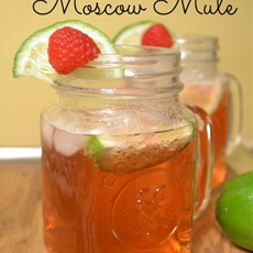 Raspberry Moscow Mule
