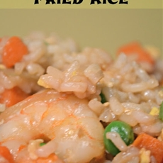 Teriyaki Shrimp Fried Rice