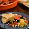 Homemade taco dip