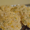 Simple from scratch garlic cheddar biscuits
