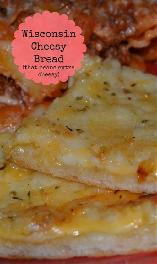 Wisconsin Cheesy Bread