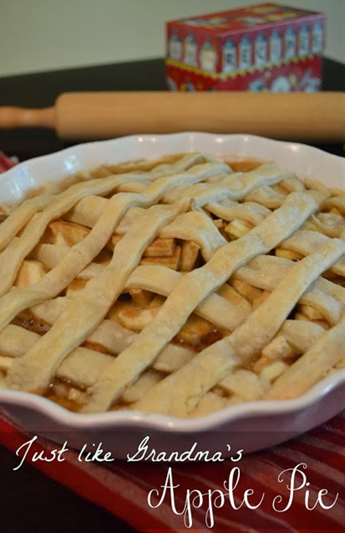 Just Like Grandmas Apple Pie