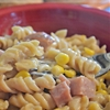 Slowcooker Ham and Cheese Pasta, the best ever comfort food.