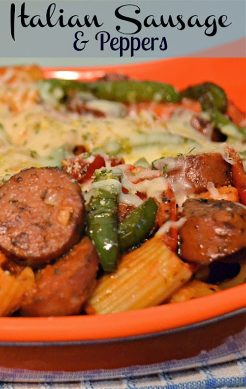 Italian Sausage & Peppers