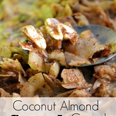 Coconut almond crunch cereal