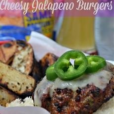 Cheesy jalapeno burgers