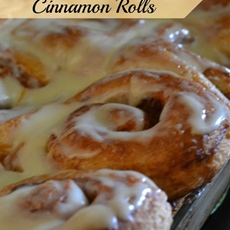 Butterscotch Cinnamon Rolls