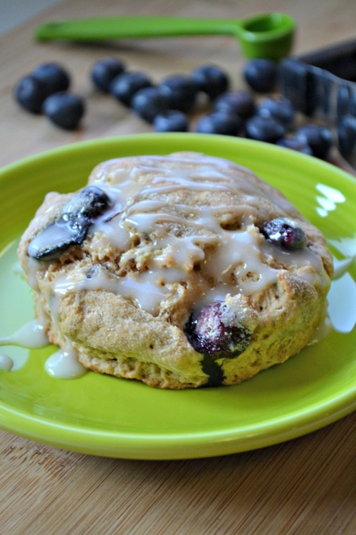 Blueberry Biscuits