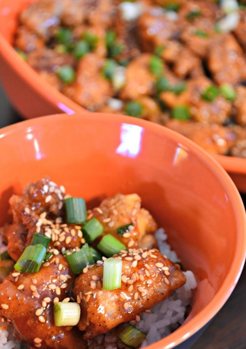 Sesame Chicken (Better than take out!)