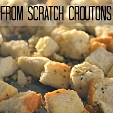 From Scratch Croutons
