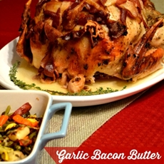 Garlic Bacon Butter Thanksgiving Turkey