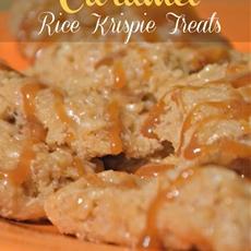 Butterscotch Caramel Rice Krispies Treat