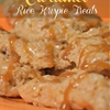 Butterscotch Caramel Rice Krispies Treat