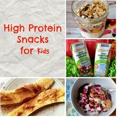 High Protein Snacks for Kids