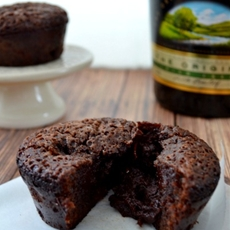 Molten Chocolate Cake Recipe with Bailey