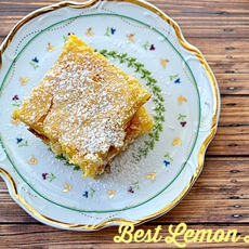 Best Lemon Bars Recipe