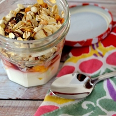 Yogurt Parfait with Fruit & Granola