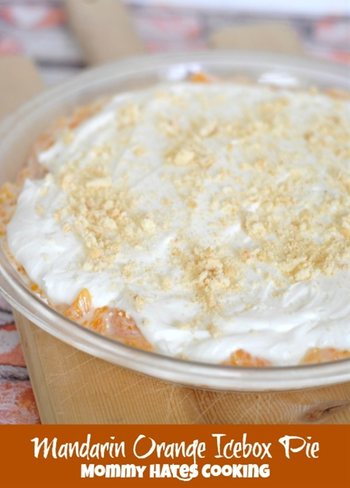 Mandarin Orange Icebox Pie