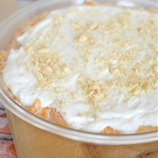 Mandarin Orange Icebox Pie