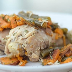 Instant Pot Maple Chicken & Sweet Potatoes