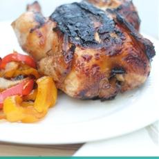 Grilled Teriyaki Cornish Hens