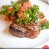 Grilled Bruschetta Steaks