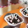 Skeleton Graveyard Pudding Cups