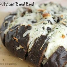 Dill Dip Pull-Apart Bread Bowl