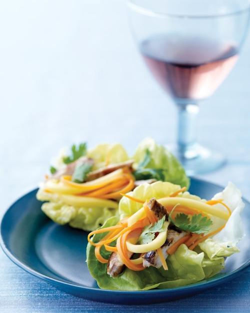 Mini Chicken Lettuce Wraps