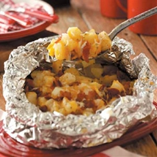 Three-Cheese Potatoes