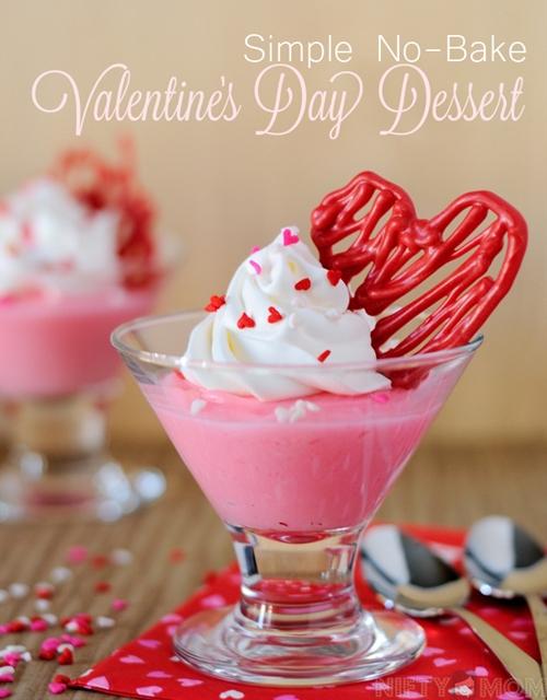No Bake Valentines Day Dessert