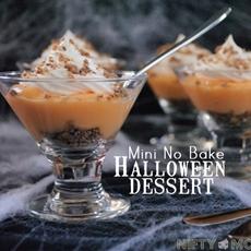 No Bake Halloween Dessert
