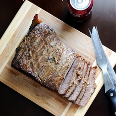 Beef Brisket with a Dr Pepper Marinade